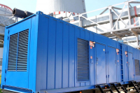 A mobile diesel generator station was delivered to the first power unit of BelNPP